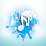 bigstock-Musical-notes-on-blue-grungy-b-45965050