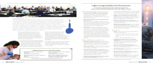 CDA Essentials_Issue 6_2014_Light curing consensus statement_FINAL_english