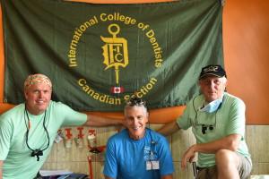 Drs. David Larsen, Ken Stones, Les Ennis